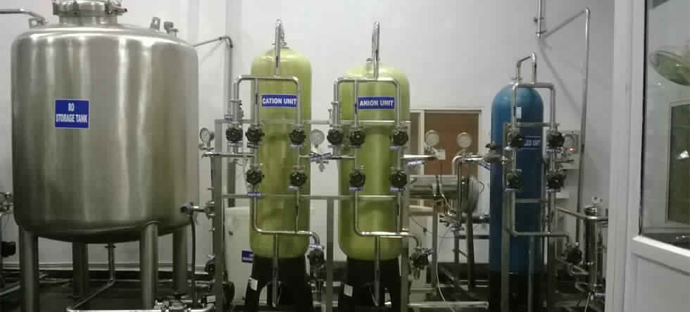 Demineralization Plant Dm Plant